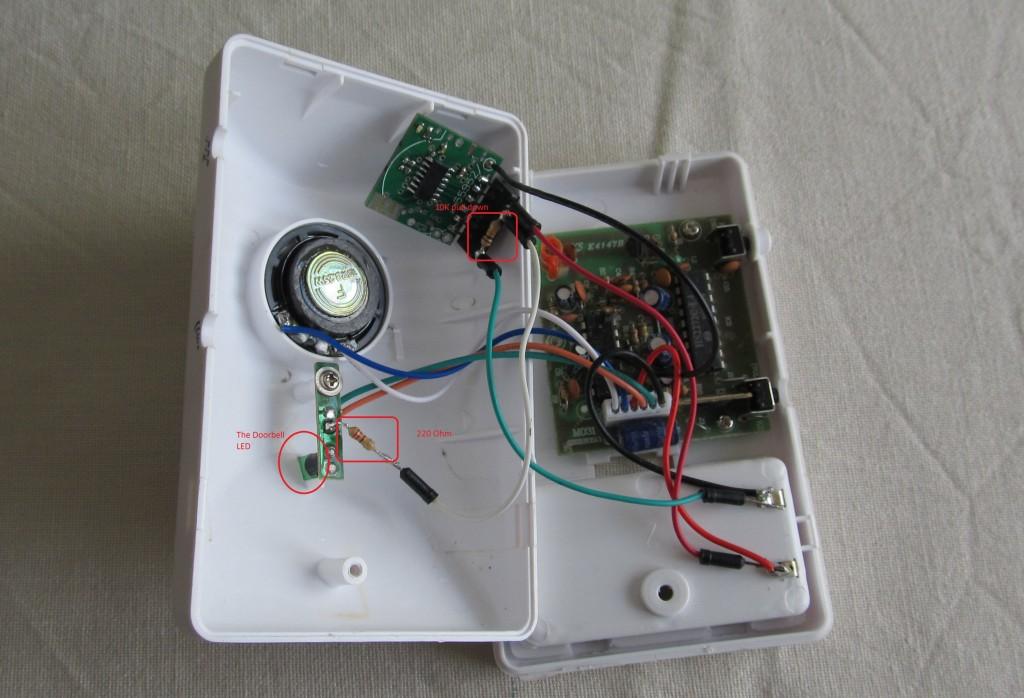 Hooking My Wireless Doorbell To The Internet Martin S