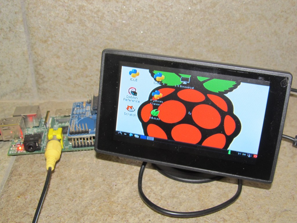 Display For My Raspberry Pi Martin S Corner On The Web
