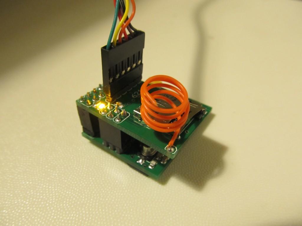 Testing the micro IoT gateway shield