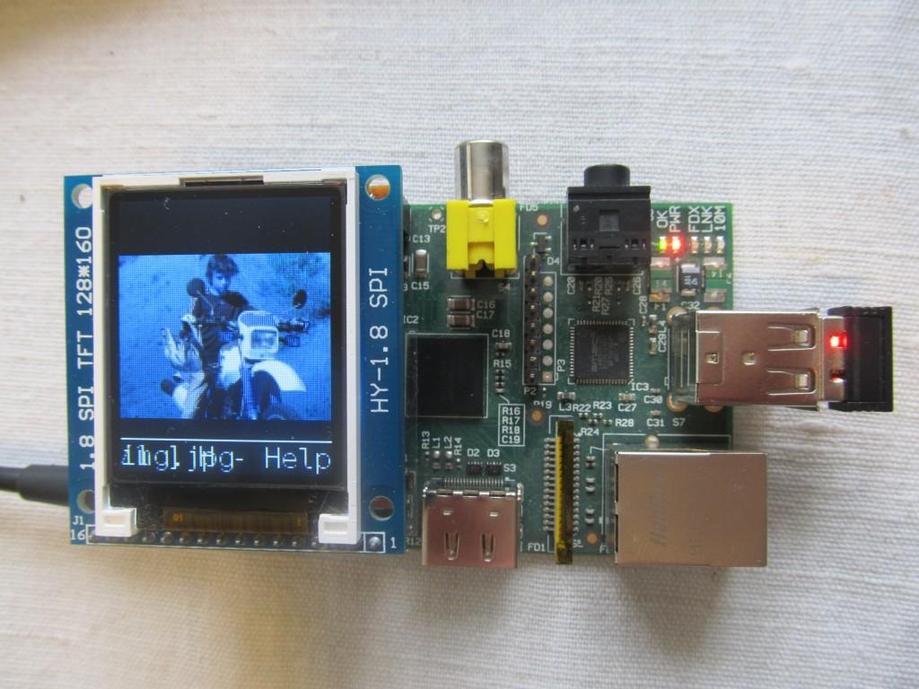 Add Framebuffer TFT support to the #RaspberryPi kernel