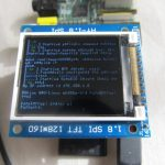1 8″ TFT LCD display on Raspberry Pi – Martin's corner on