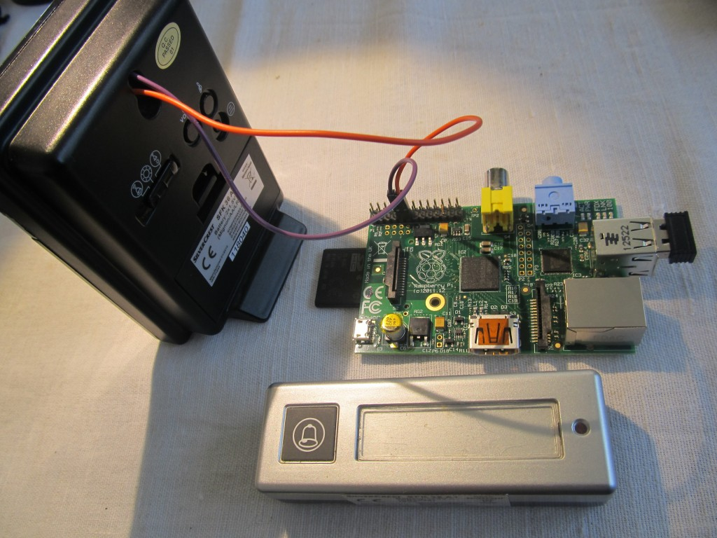 Raspberry Pi Email Sms Doorbell Notifier Picture Of The Person Wiringpi Python Interrupts Img 2662