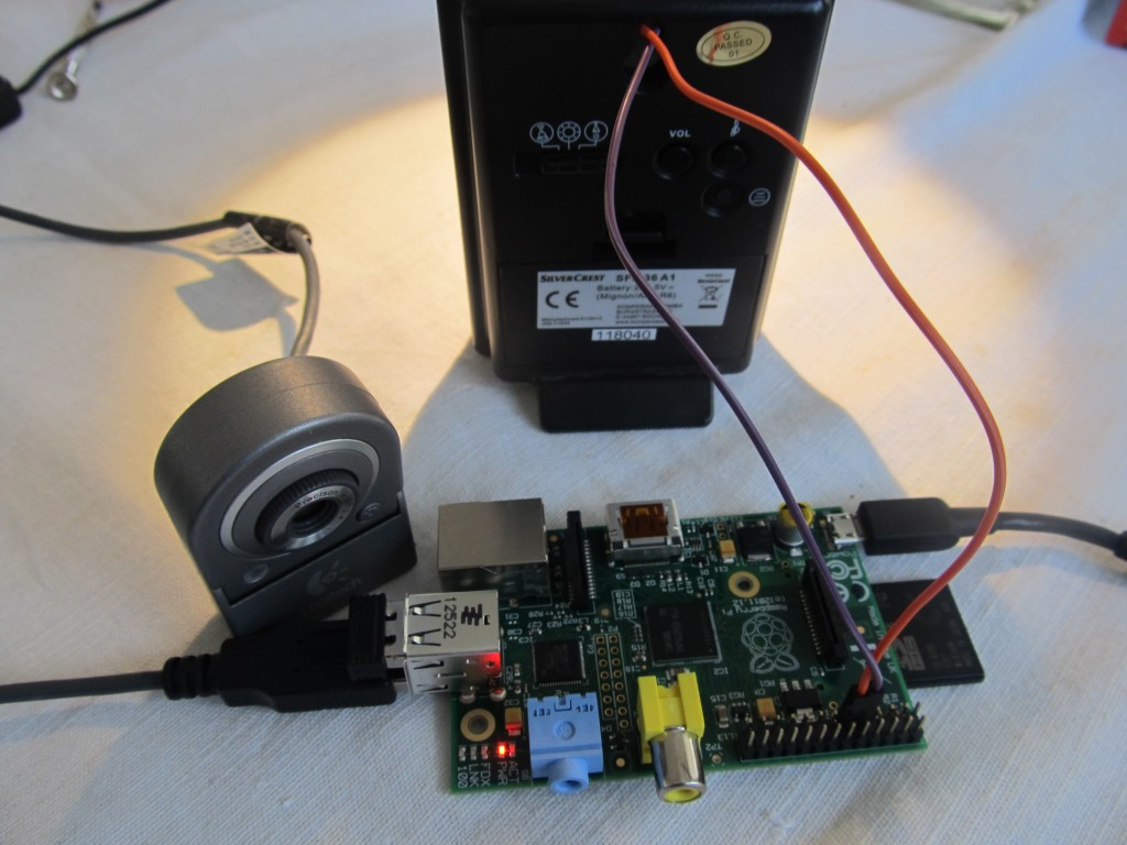 Raspberry Pi Email Sms Doorbell Notifier Picture Of The Person Home Diy Electronic Circuit Img 2664
