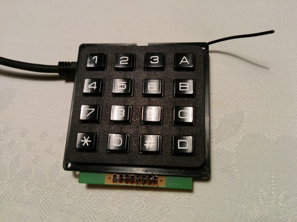 Keypad as USB keyboard
