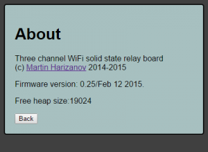 WiFi Thermostat with weekly scheduler – Martin's corner on the web