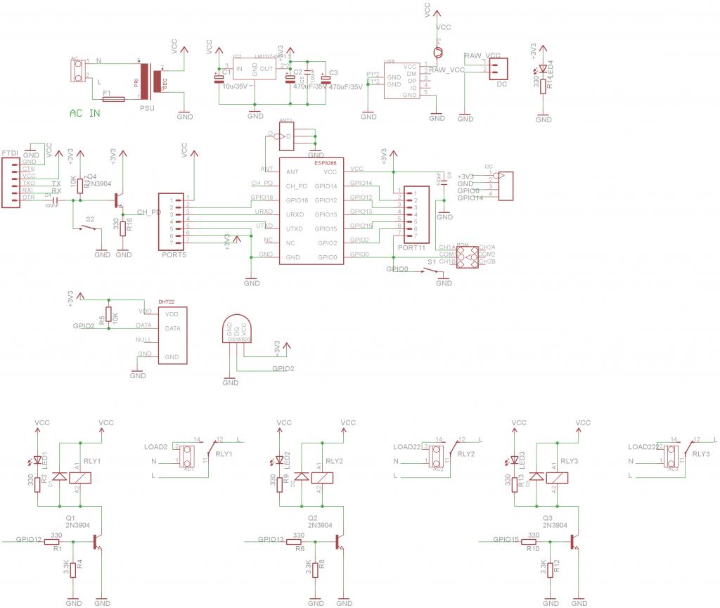 esp8266 relay board sch  u2013 martin u0026 39 s corner on the web