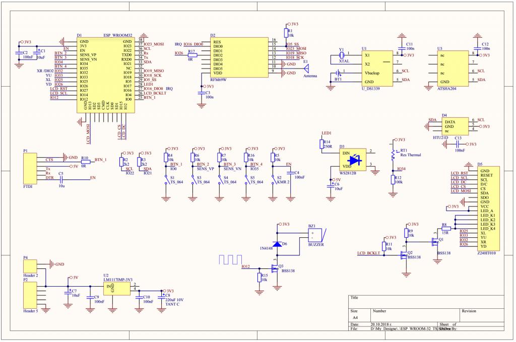 TFT32 – IoT gateway/control hub with TFT – Martin's corner